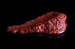 Pasta de tomate Foto de archivo libre de regalías