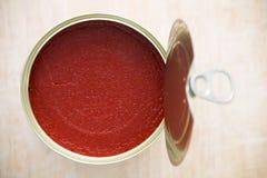 Pasta de tomate Imagen de archivo libre de regalías