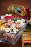 Pasta dei salmoni affumicati Fotografia Stock Libera da Diritti
