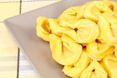 Pasta dei tortellini Fotografia Stock Libera da Diritti