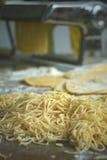Pasta dei vermicelli Immagine Stock