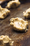 Pasta del biscotto di pepita di cioccolato Fotografie Stock Libere da Diritti