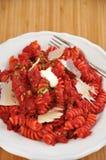 Pasta del curry delle barbabietole Fotografia Stock Libera da Diritti