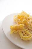 Pasta del Fettuccine Immagine Stock