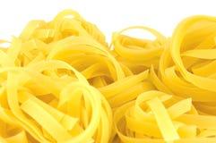 Pasta del Fettuccine Fotografie Stock