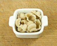 Pasta del grano intero immagine stock