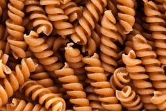 Pasta del grano intero Fotografie Stock