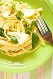 Pasta del limone Fotografie Stock Libere da Diritti