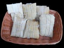Pasta del maíz envuelta Imagen de archivo