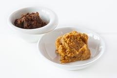Pasta del miso Immagine Stock