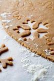 Pasta del pan di zenzero Immagini Stock Libere da Diritti
