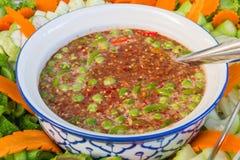 Pasta del peperoncino rosso Fotografie Stock