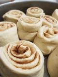 Pasta della cannella Fotografia Stock