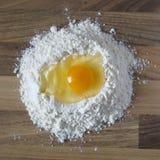 Pasta della pasta nella fabbricazione Fotografia Stock