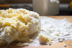 Pasta della patata Immagine Stock