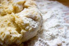 Pasta della patata fotografie stock libere da diritti