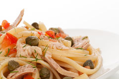 Pasta detail. Royalty Free Stock Photo