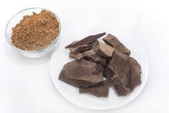 Pasta di cacao Immagine Stock