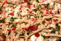 Pasta di Carbonara Fotografie Stock