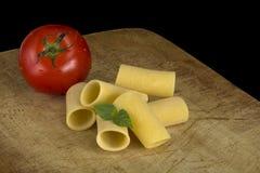 Pasta di Paccheri immagine stock libera da diritti