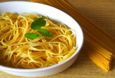 Pasta dinner Royalty Free Stock Photo