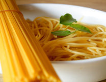 Pasta dinner Stock Photos