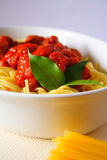 Pasta dinner Royalty Free Stock Photography
