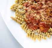 Pasta Dinner stock photography