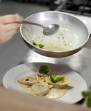 Pasta dish 1 Stock Photo