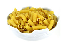 Pasta in dish Royalty Free Stock Images