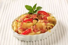 Pasta dish Royalty Free Stock Photography