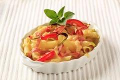 Pasta dish Royalty Free Stock Photography