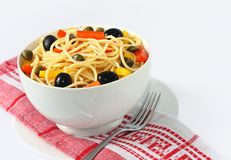 Pasta dish Stock Photography