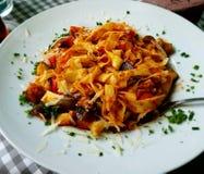 Yummy pasta Stock Image