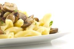 Pasta Dish Gigli Con Funghi Stock Images