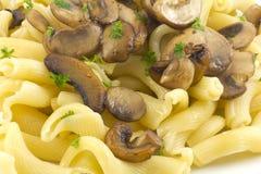 Pasta Dish Gigli Con Funghi Royalty Free Stock Photos