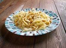 Pasta dish in Italian Stock Images