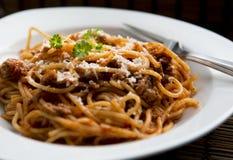 Pasta dish Stock Image