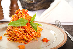 Pasta dish Stock Photo