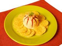 Pasta do marisco Fotografia de Stock