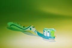 Pasta do toothbrush e de dente Imagem de Stock Royalty Free