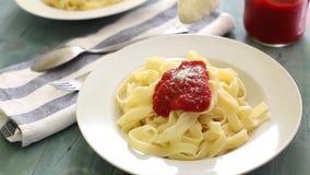 Pasta stock footage