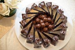 Pasta dura de chocolate Fotografía de archivo libre de regalías