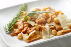 Pasta e ceci Stock Photography