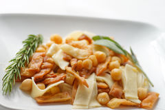 Pasta e ceci Stock Photo