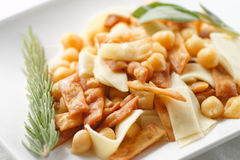 Pasta e ceci Royalty Free Stock Photo