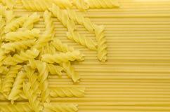 Pasta e spaghetti Fotografia Stock Libera da Diritti