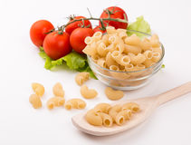 Pasta Elbows Royalty Free Stock Images