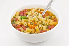 Pasta Fagioli Stock Photography