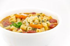 Pasta Fagioli Royalty Free Stock Images